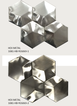 STAINLESS STEEL HEXAGON TILES1