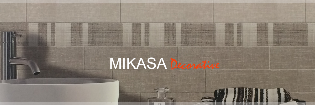 MIKASA DECORATIVE PORCELAIN TILE